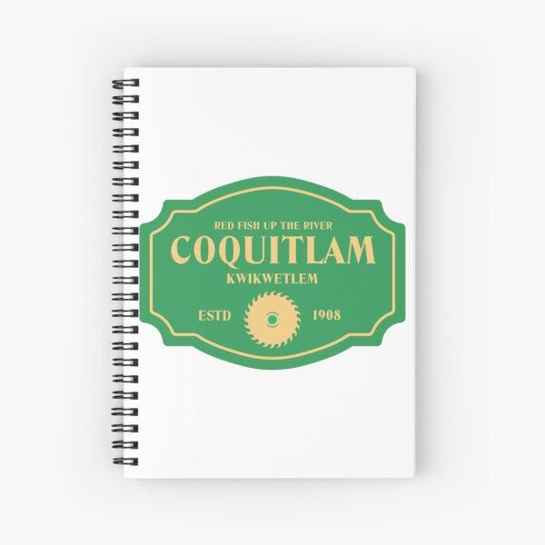 Coquitlam Spiral Notebook