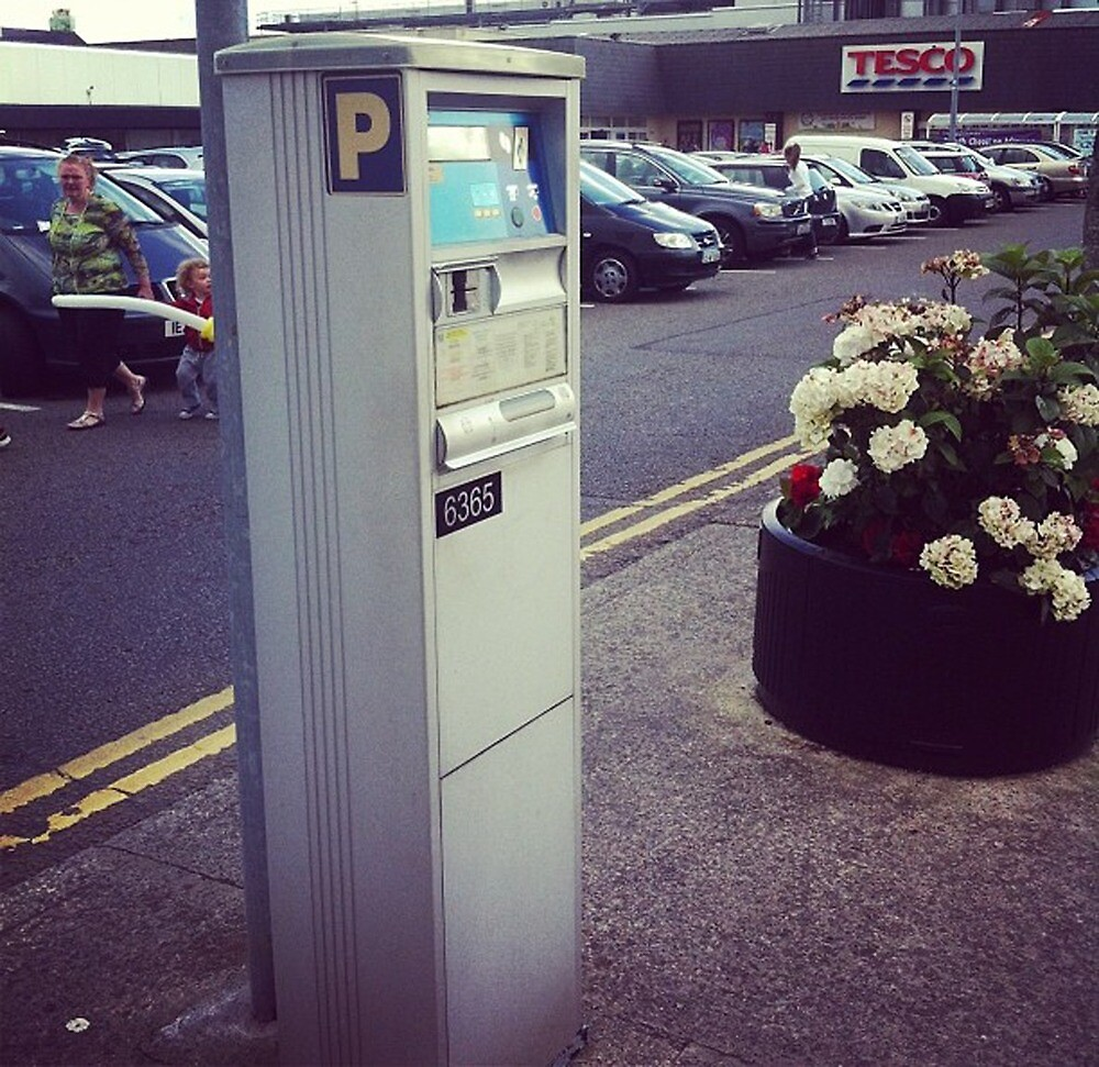 Ticket Machine, Sligo, 2014 by dav956able