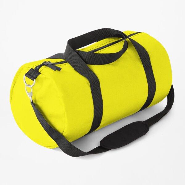 Solid Color Yellow, Geel, Jaune, Gelb, Amarillo Duffle Bag