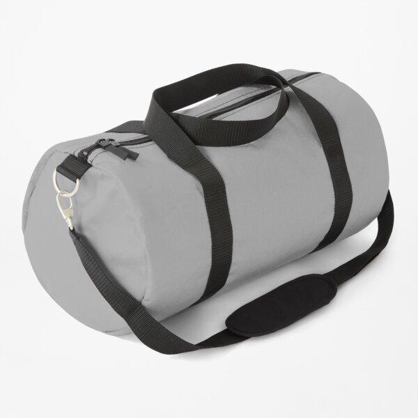Solid Color Grey, Grijs, Gris, Grau, Gris Duffle Bag