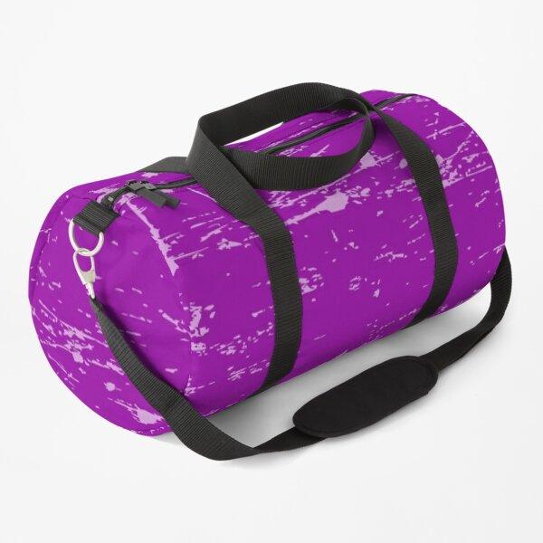 Solid Color Grunge Purple, Paars, Violet, Lila, Morado Duffle Bag