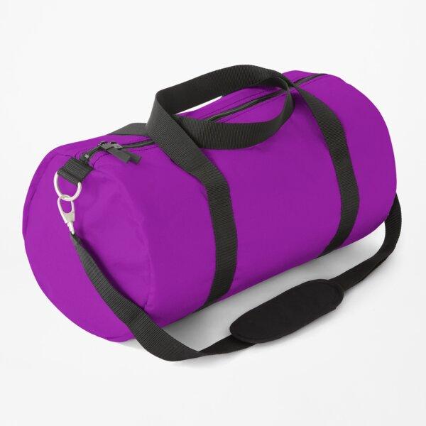 Solid Color Purple, Paars, Violet, Lila, Morado Duffle Bag