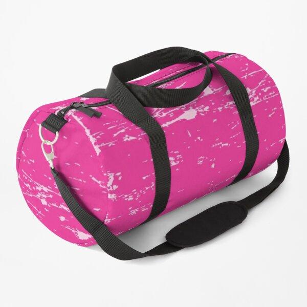 Solid Color Grunge Pink, Roze, Rose, Pink, Rosado Duffle Bag