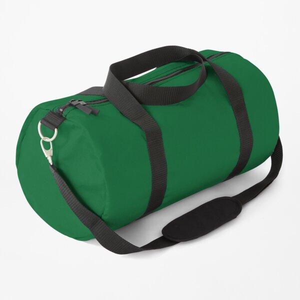 Solid Color Green, Groen, Vert, Grün, Verde Duffle Bag
