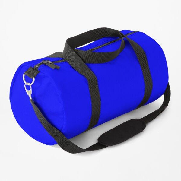 Solid Color Blue, Blauw, Bleu, Blau, Azul Duffle Bag