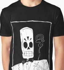 Grimmig Grafik T-Shirt