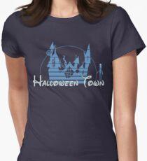 Halloween Town Women's Fitted T-Shirt
