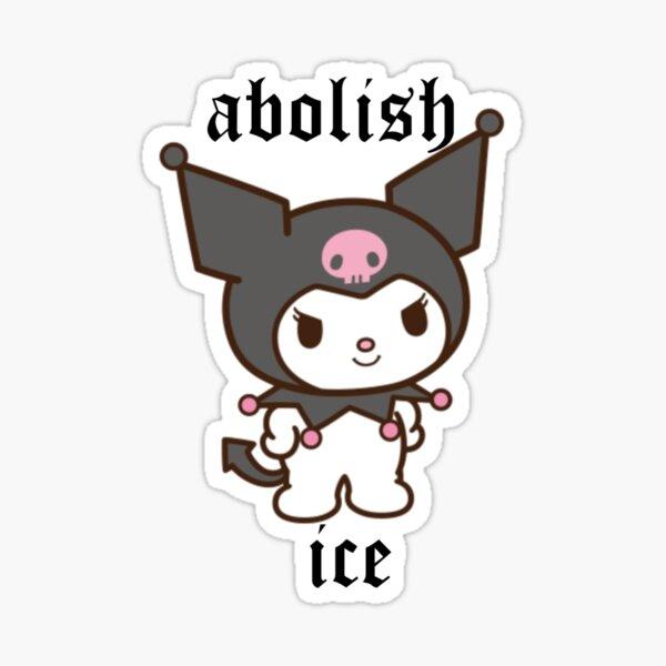 Abolish Ice Kuro Sticker