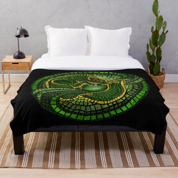 By the Dread Wolf's Design Throw Blanket