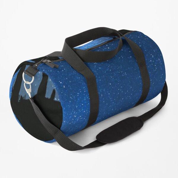 Milky Way In The Desert At Night Duffle Bag