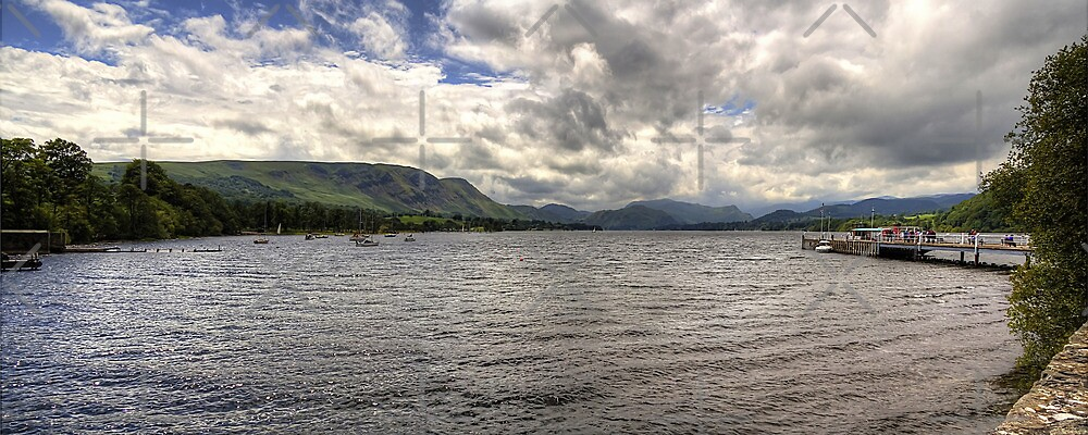 Ullswater Panorama by Tom Gomez