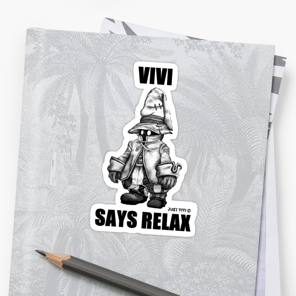Vivi Says Relax - Sketch em up by tribal191983