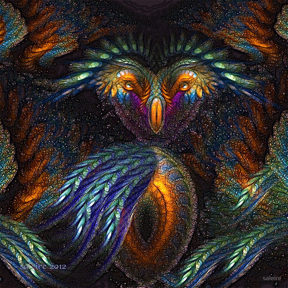 Wise Owl by saleire