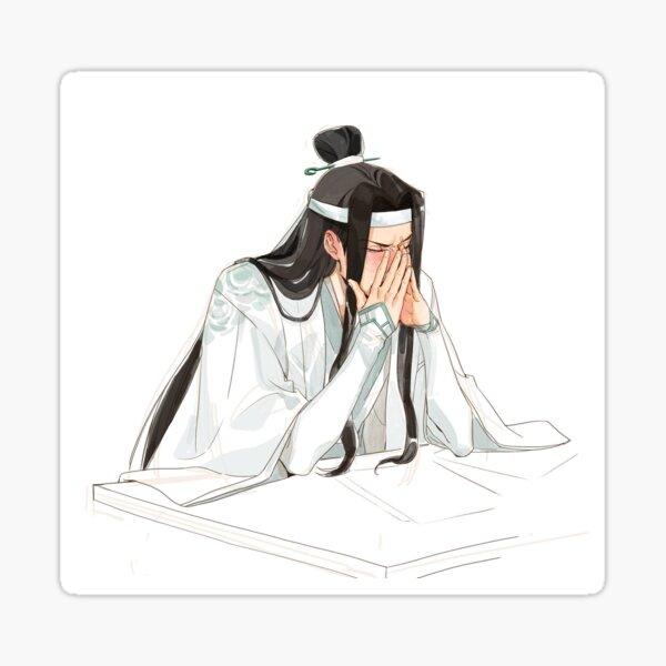 Lan Wangji a souligné et pensé à Wei Wuxian de Mo Dao Zu Shi Sticker