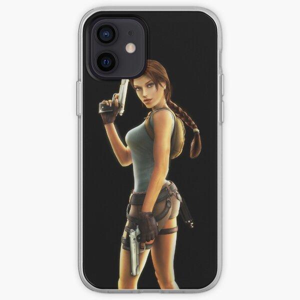 LARA CROFT ANNIVERSARY 1 iPhone Soft Case