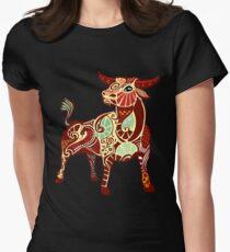 Taurus Tailliertes T-Shirt
