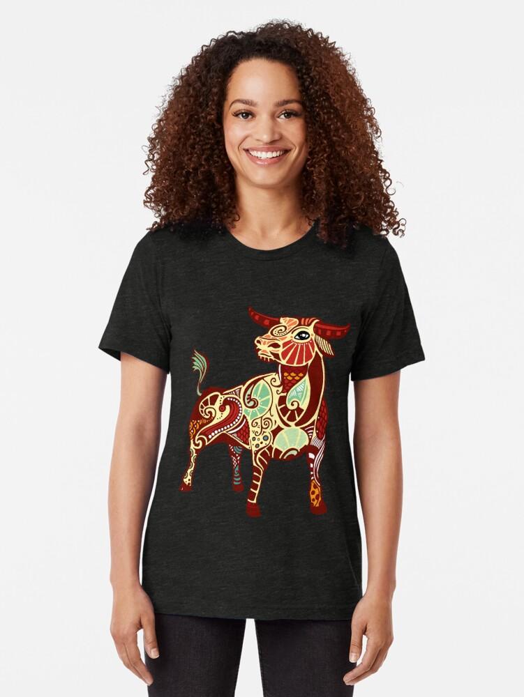 Alternative Ansicht von Taurus Vintage T-Shirt