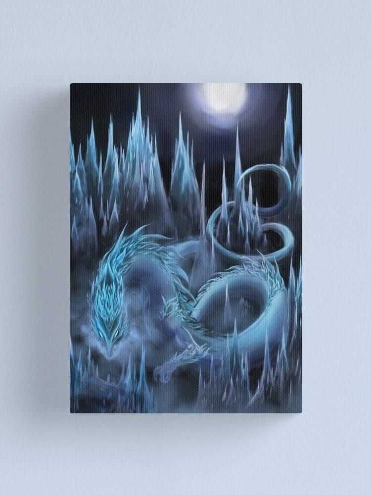 Alternate view of jormag guild wars 2 Canvas Print