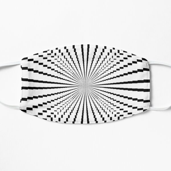 Scientific, Artistic, and Psychedelic Prints on Awesome Products Flat Mask