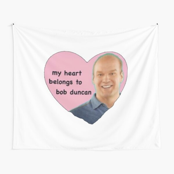 bob duncan heart meme Tapestry