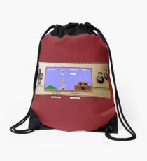Gameboy Micro Classic Drawstring Bag