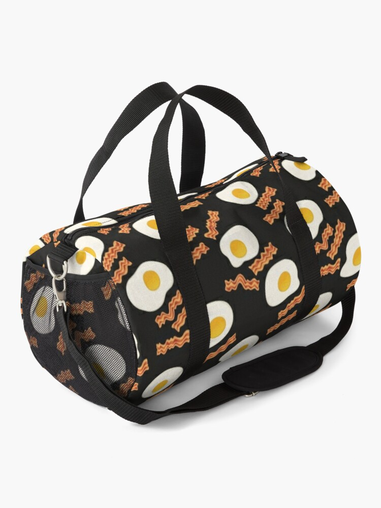 Alternate view of Bacon & Eggs for Breakfast Duffle Bag