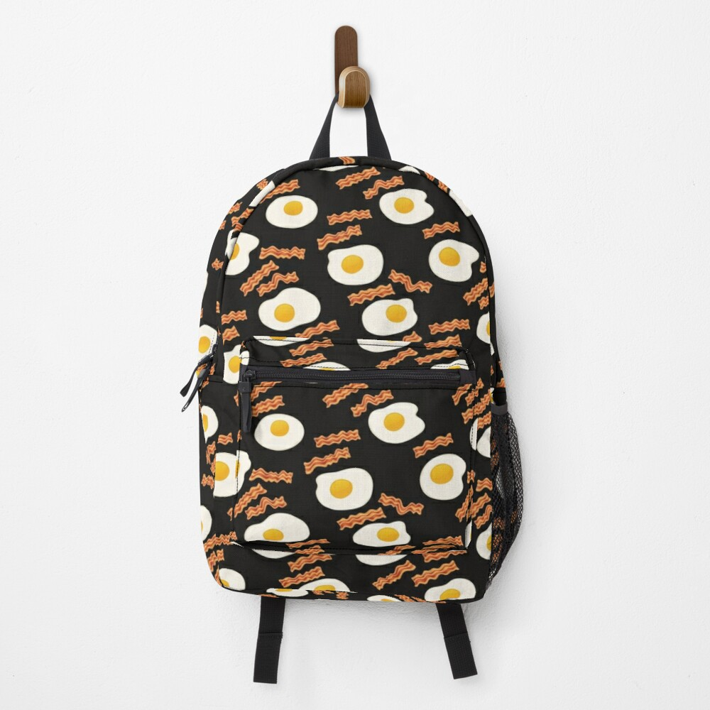 Bacon & Eggs for Breakfast Backpack