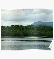 Benbulben from Lough Erne Poster