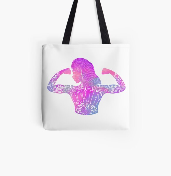 Worthy All Over Print Tote Bag