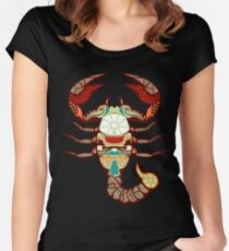 Scorpio Tailliertes Rundhals-Shirt
