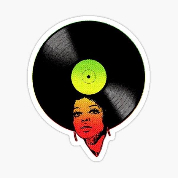 Afrovinyl (Rasta) Sticker