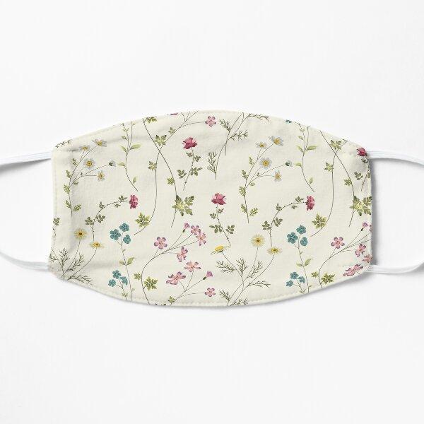 Pressed Flowers Flat Mask
