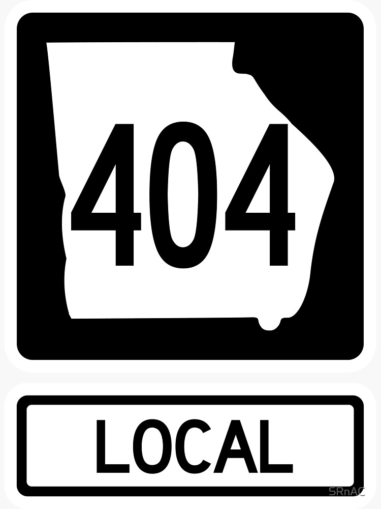 Georgia State Route 404 Local (Area Code 404) by SRnAC