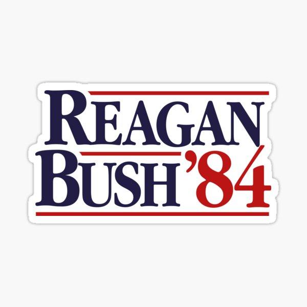 Reagan/Bush '84 Sticker