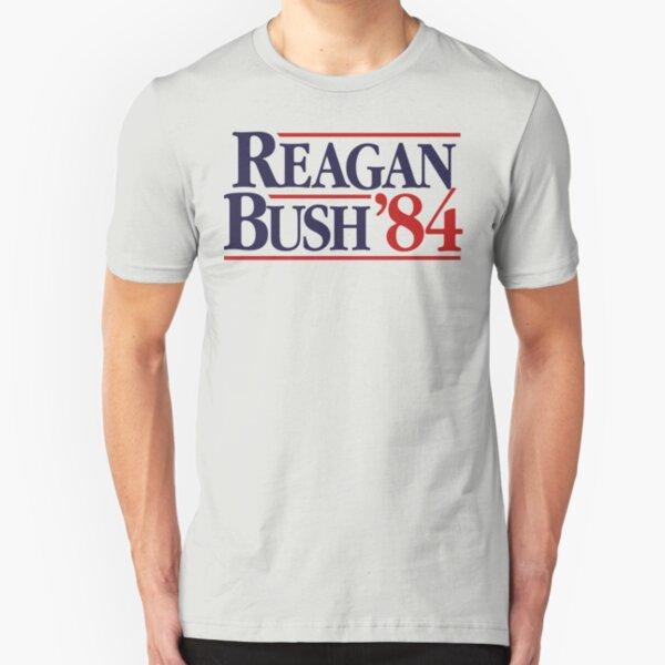 Reagan/Bush '84 Slim Fit T-Shirt