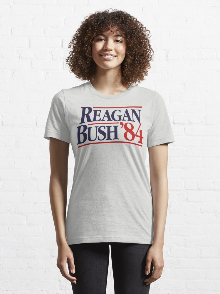 Alternate view of Reagan/Bush '84 Essential T-Shirt