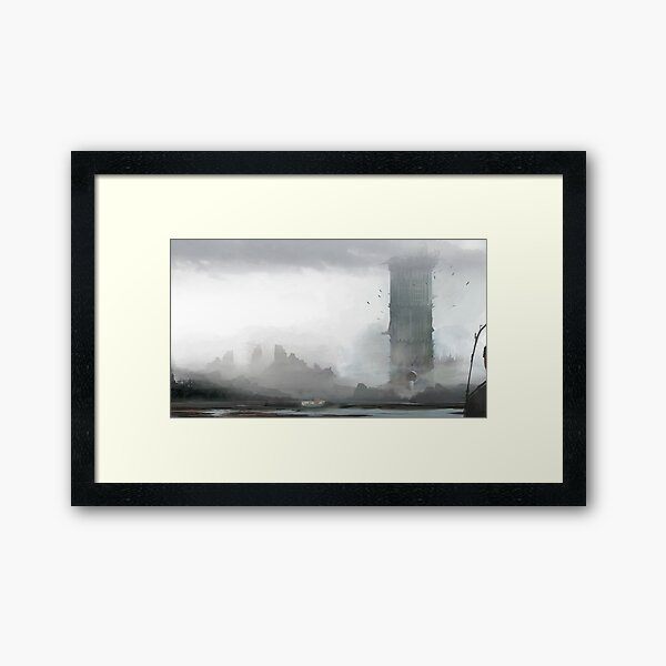 The Epochal Tower Framed Art Print