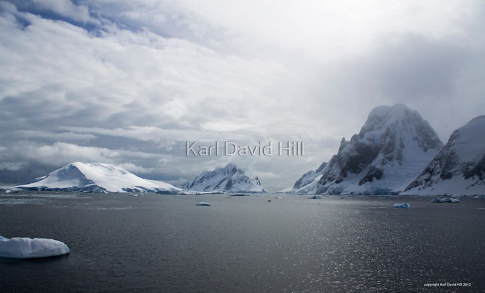 Antarctica 007 by Karl David Hill