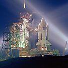 STS-1 Pre-Launch iPad Case by ipadjohn