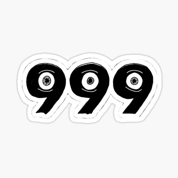 JUICEWRLD 999 REVERSE EVIL  Sticker