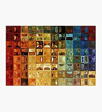 Modern Tile Art #22, 2008 Photographic Print