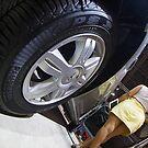 Renault Logan Expression Automatic Wheel [ Print & iPad / iPod / iPhone Case ] by Mauricio Santana