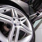 Peugeot 308 Feline Wheel [ Print & iPad / iPod / iPhone Case ] by Mauricio Santana