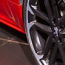 Peugeot RCZ Wheel [ Print & iPad / iPod / iPhone Case ] by Mauricio Santana