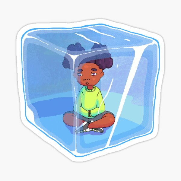 Live on Ice Sticker