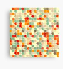 Circles and Squares 12. Modern Geometric Art Canvas Print