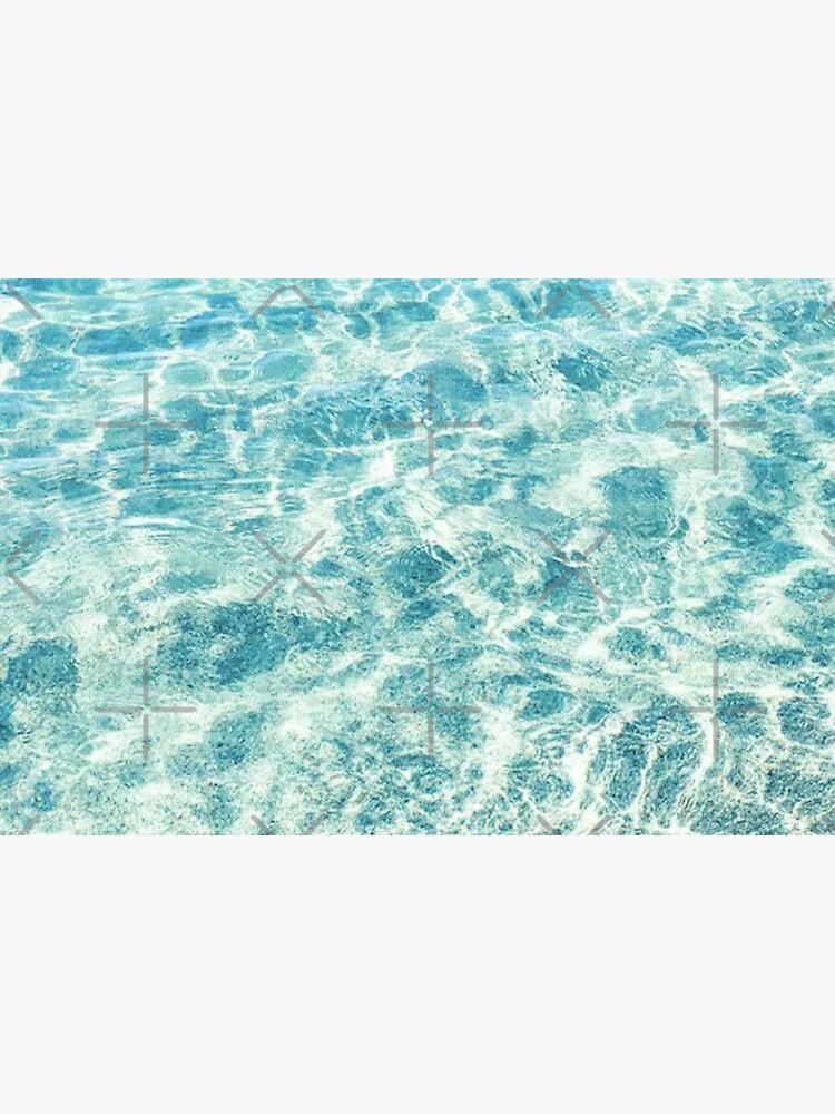 Crystal Clear Aqua Blue Ocean Water by AlexandraStr