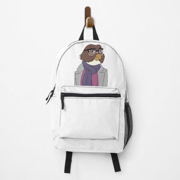 Stylish Owl Lady Backpack