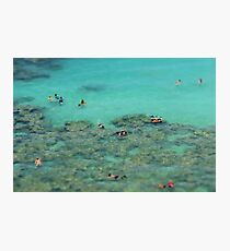 Snorkelling - travel photography print Photographic Print