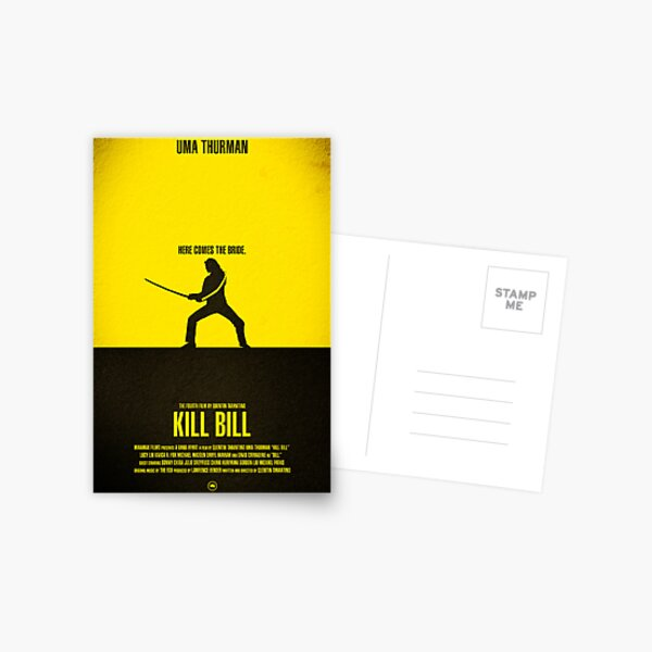 "Movie Poster - ""KILL BILL - Vol.1"" Postcard"